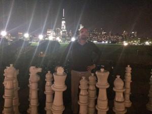 Benoit-3_Liberty State Park, face à Manhattan, sur le grand échiquier du monde, 2014